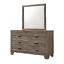 thumbnail 4 - NEW 5PC Rustic Brown Queen King Twin Full Bedroom Set Modern Furniture B/D/M/N/C