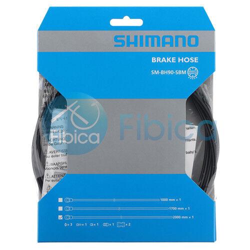 New Shimano SM BH90 SBM Hydraulic Disc Rear Brake Hose 2000mm for XTR XT SLX