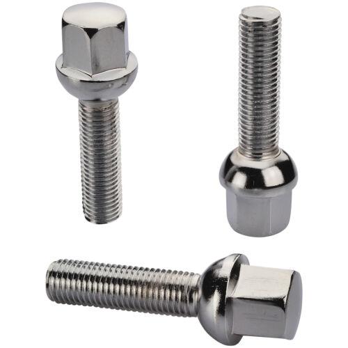 8 cromo tornillos perno de rueda m12 1,5 28 bala r12 bala federal sw17 llantas de aluminio