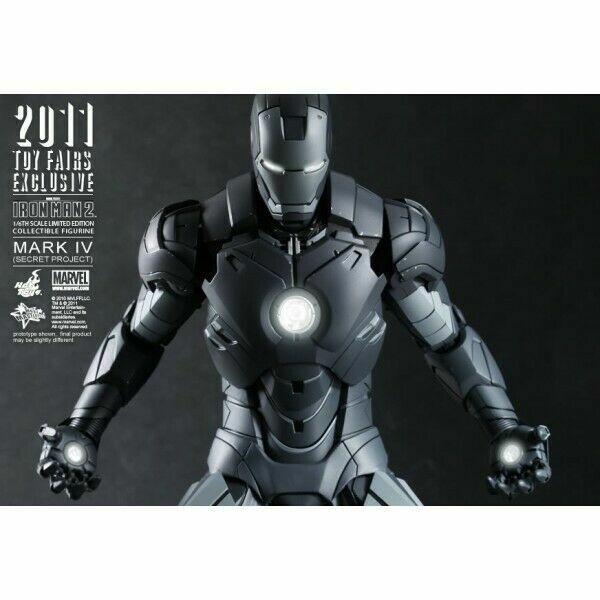 Tienda de moda y compras online. Sideshow Hot Juguetes Iron Iron Iron Man 2 Mark IV SECRET PROJECT SDCC11 Exclusive 9013 SEALED  ordenar ahora