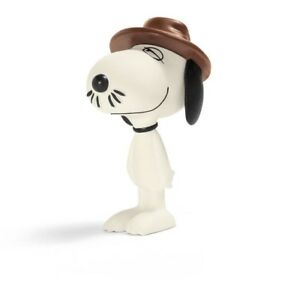 NEW-SCHLEICH-PEANUTS-CLASSIC-SPIKE-SNOOPY-039-S-BROTHER-PVC-FIGURE-BEAGLE-DOG-TAG