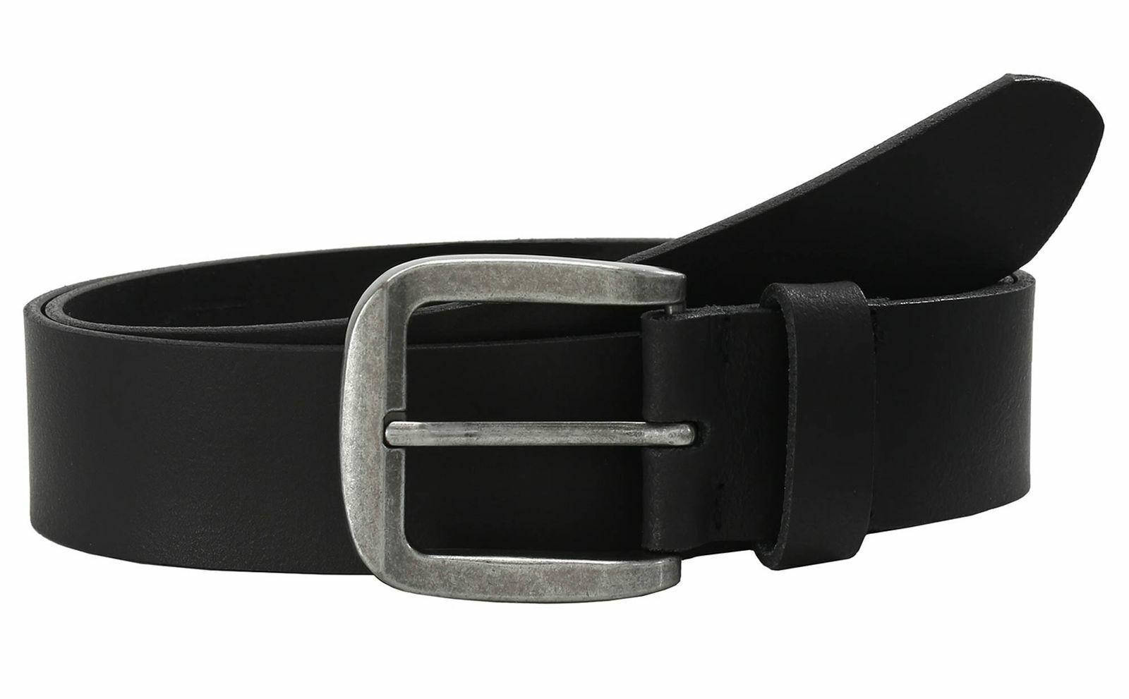 LLOYD Fashion Leather Belt 4.0 W115 Gürtel Accessoire Black Schwarz