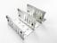 Sparset Kiesfangleisten höhenverstellbar Al99,5 70-110mm inkl Eckverbinder
