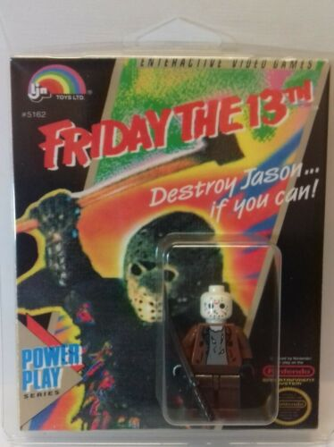 Custom Lego Friday The 13th Jason Voorhees Figure avec benne preneuse Display Box