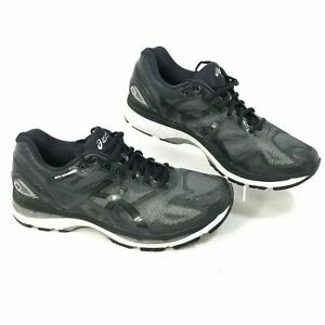 more photos 58b8b 4bf4a Details about Asics Gel Nimbus Running Shoes Men's Black T702N - US 7 1/2