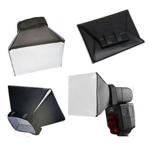 Plegable Universal Suave Caja Difusor de Flash Domo para Canon Nikon Sony Pentax