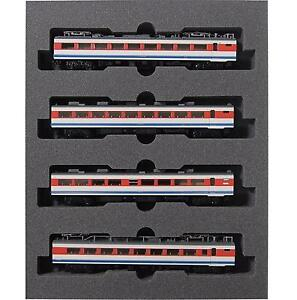 Kato 10-1203 Series 489 Hakusan 4 Cars Add-on Set - N