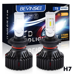 NOVSIGHT H7 Car LED Headlight Bulbs Kit 16000LM High//Low Beam Lamps 6500K White