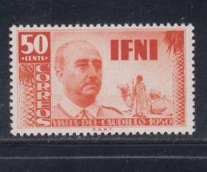 IFNI-1951-NUEVO-SIN-FIJASELLOS-MNH-ESPANA-EDIFIL-73-50-cts-FRANCO-LOTE-2