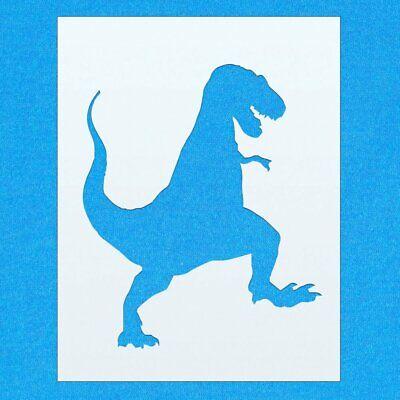 A1 Size Stencil - XLarge Stegosaurus Dinosaur Shape Mylar Airbrush Painting Wall Art Stencil one