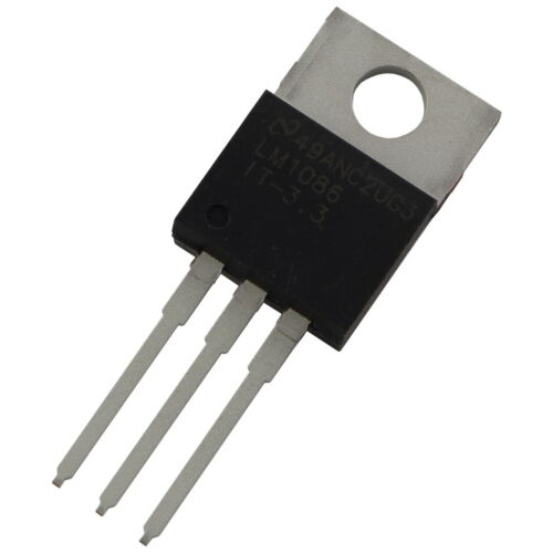 3,3V 1,5A LDO-Regulator 856025 LM1086IT-3.3 Texas Instruments Spannungsregler
