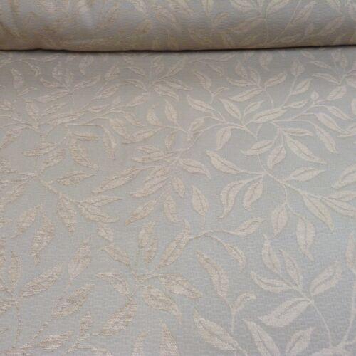 Beige Stone Leaf Chenille  140cm wide Curtain//Craft Fabric