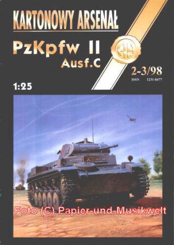1:25 II Ausf Pz.Kpfw Halinski 1998//2-3 C