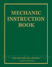 Reo Truck Speedwagon Shop Manual 1936 1937 1938 1939 Repair Service Book