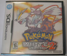 Brand New Factory Sealed Pokemon White Version 2 for Nintendo DS DSi 2DS 3DS XL