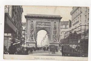 Paris Porte Saint Denis France Vintage Postcard 317a - Aberystwyth, United Kingdom - Paris Porte Saint Denis France Vintage Postcard 317a - Aberystwyth, United Kingdom