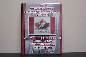 1997-1998-Kraft-World-039-s-Best-Hockey-Collectors-Album-complete