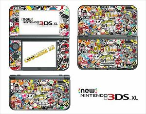 Image Is Loading Skin Sticker Decal Nintendo New 3ds Xl Ref
