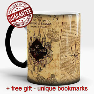 Harry-Potter-Magic-mug-Marauders-map-Hogwarts-Color-Changing-Cup-free-Gift