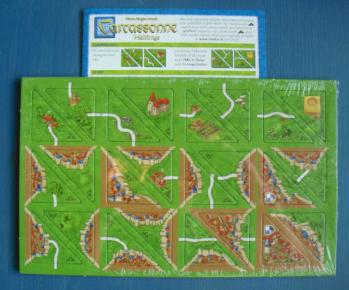 Carcassonne New Edition, with English Rules Halflings