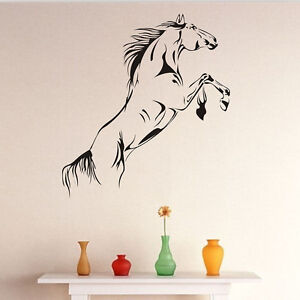 New-PVC-Jump-Horse-Wall-Sticker-Removable-Vinyl-Art-Mural-Home-Decor