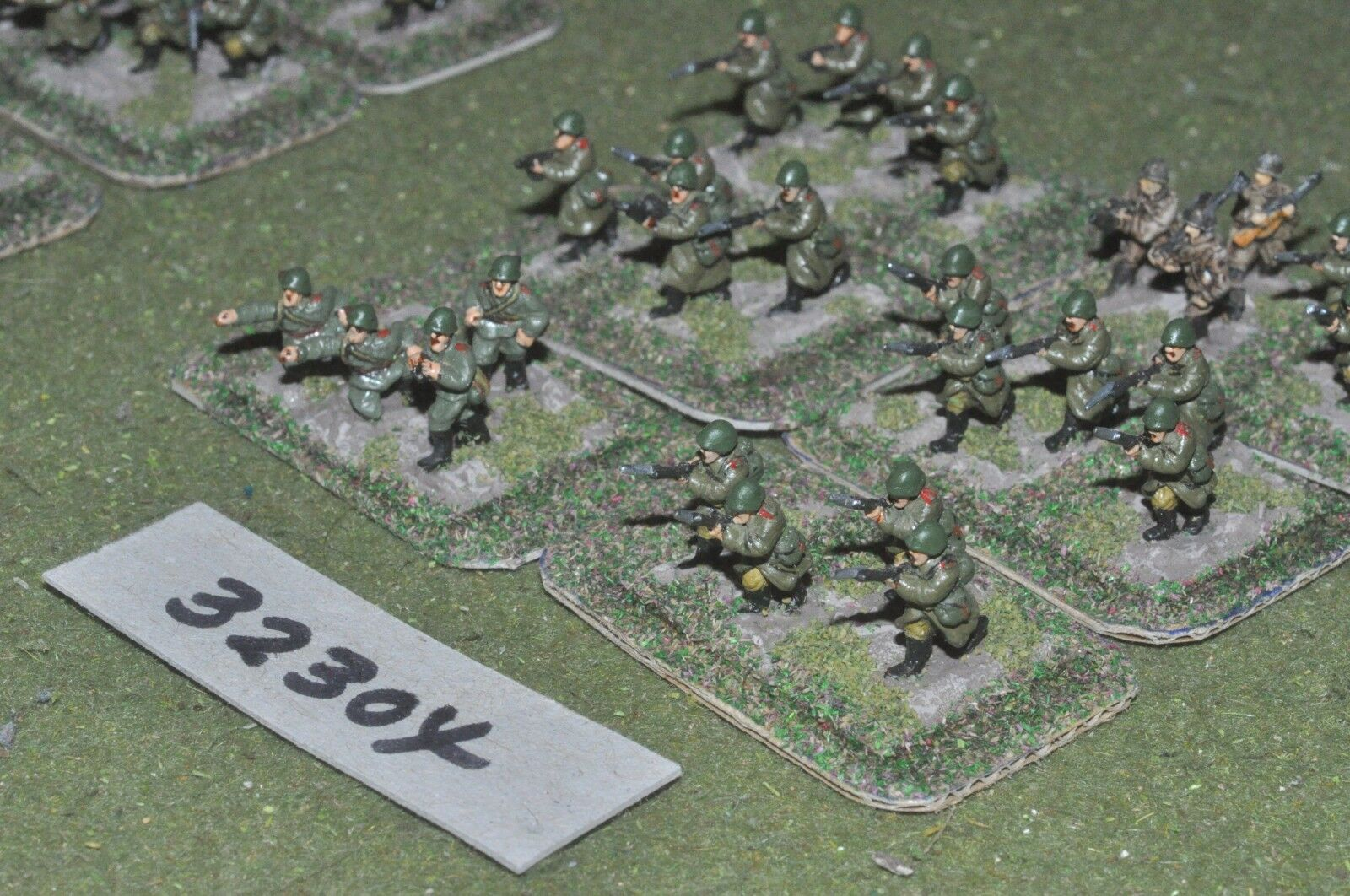 15mm WW2   russian - section 24 figures - inf (32304)