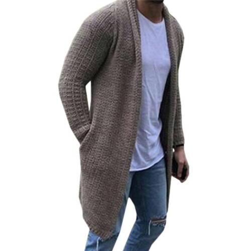 Men Bomber Jacket Faux Fur Hooded Parka Trench Padded Coat Winter Warm Outerwear