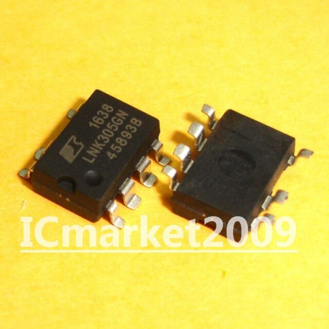 LNK305GN LNK305 PI ic offline swit ocp 8smd 5PCS//LOT