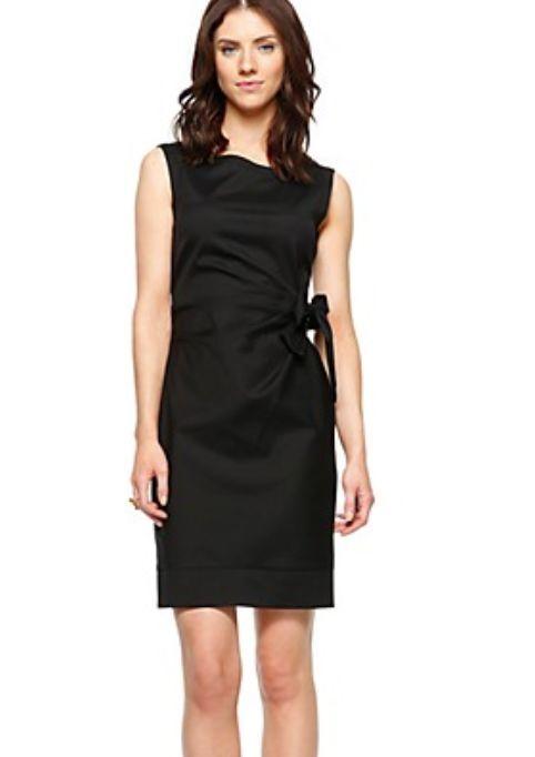 NEU  Sir Oliver, schwarzes Kleid Gr. 40, schwarz elegant lässig, sexy (NP 109,-)