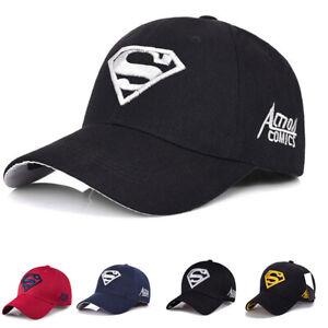 072702c0 Image is loading Superman-Baseball-Cap-Outdoor-Sunscreen-Cap-Wild-Leisure-
