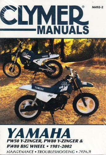1981-2002 Yamaha PW50 PW80 BW80 Big Wheel Repair Service WorkShop Manual M4922