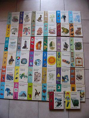 Bücher Sammlungen & Pakete Ehrlichkeit 38x Meine Erste Bücherei Brönner Kinderbücher 1-38 Urwelt Piraten Spinnen Uhren Ohne RüCkgabe