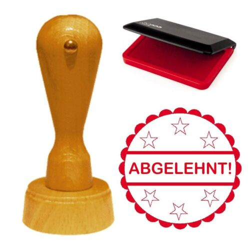 Stempel « ABGELEHNT » Lehrerstempel Bürostempel Schulstempel Chef Boss Firma
