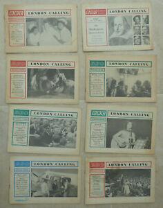 Media-magazine-B-B-C-Overseas-Journal-039-London-Calling-039-8-copies-1963-64