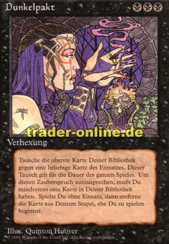 Darkpact Magic limited black bordered german beta fbb foreign deuts Dunkelpakt