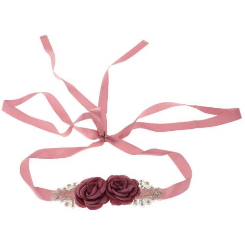 Strass Brautgürtel Schärpe Gürtel Damengürtel Abendkleid und Brautkleid