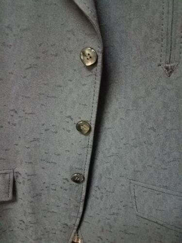 frontali scuro blu Lasso Tailored tasche Blazer 38 Sz foderati donna bottoni da con RAPx70