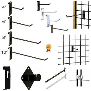 Gridwall Hooks Hangers Display Craft Art Show Stand Grid Rack 12 24