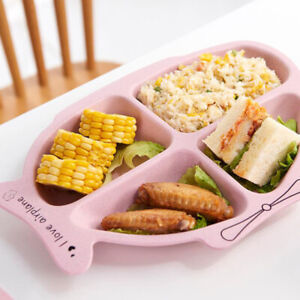 3Pcs-Children-Tableware-Set-Creative-Separate-Meal-Plate-Spoon-Fork-Cutlery-BE