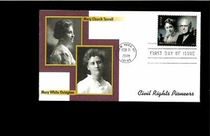 2002-First-day-Cover-Civil-Rights-Pioneers-New-York-NY
