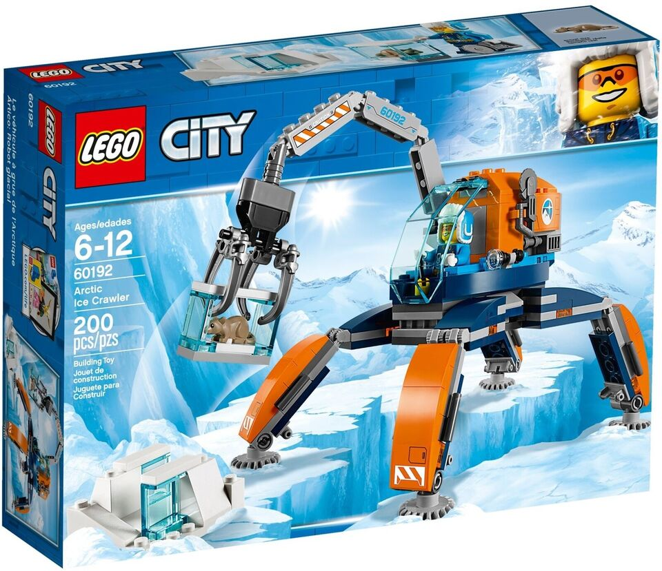 Lego City, 60192 Arctic Ice Crawler UÅBNET