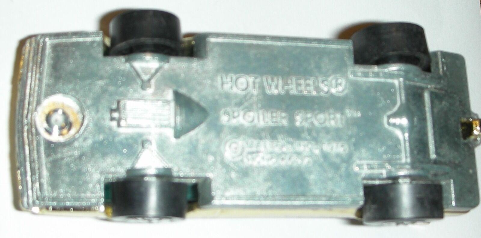 gold Spoiler Sport 1976 Hot Wheels Die-Cast Car Car Car Loose Made in Hong Kong 1 64 7f6681
