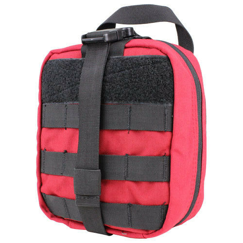 CONDOR MOLLE Modular Tactical EMT Rip-Away MEDIC POUCH ma41 RED