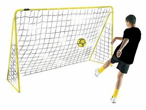 Kickmaster-6ft-Premier-Steel-Goal-Goalkeeper-Nets-Garden-Football-5-Years