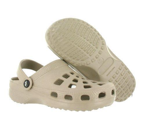 DOGGERS YOUTH KIDS TAN Clog with Strap Shoe Ultra LIte Comfort Slip On Cr cs