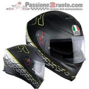 Bekleidung Auto-motorsport Helm Integral Agv K5 S Pinlock Valentino Rossi Dorn 46 Größe Ml