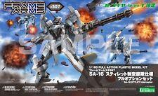 FRAME ARMS SA-16 STYLET INTERCEPTOR PLASTIC MODEL 1/100 SCALE S07 NEW #smar17-63