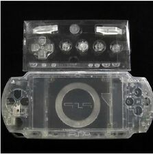 T6 Transparent Full Set Shell Case Cover For Sony PlayStation Portable PSP1000