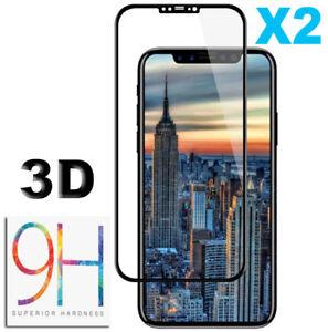 iPhone-X-XS-XS-Max-XR-Vitre-VERRE-trempe-Film-Protection-d-039-ecran-Glass-Tempered