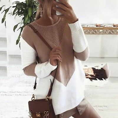Women's Knitwear Jumper Cardigan Long Sleeve Coat Jacket Knit Sweater Pullover